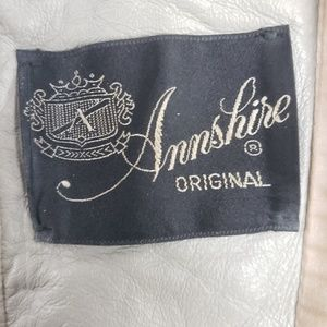 Annshire Jackets & Coats - Vintage Full Length Leather Overcoat, Size Large